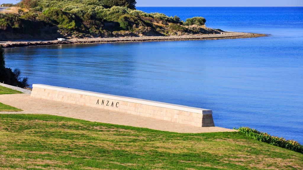 Anzac Memorial at the Gallipoli Battle fields